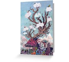 Journeying Spirit (deer) Greeting Card