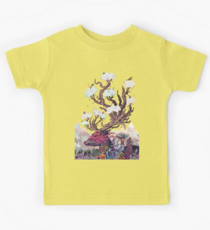 Journeying Spirit (deer) Kids Tee