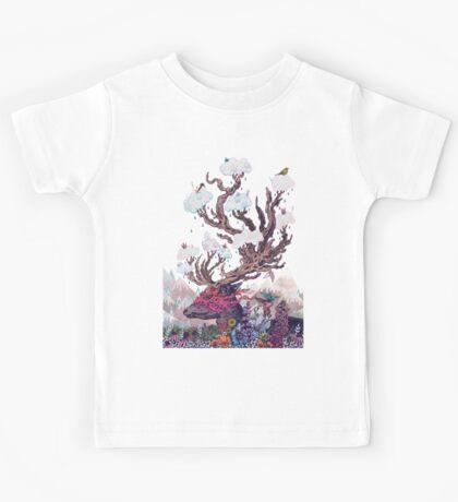 Journeying Spirit (deer) Kids Tee