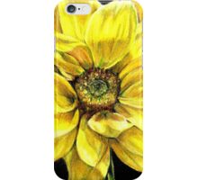Dancing Yellow Daisy iPhone Case/Skin