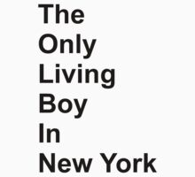 The Only Living Boy in New York by pfeg