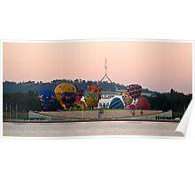 Canberra Balloon Fest 2005 #1 Poster