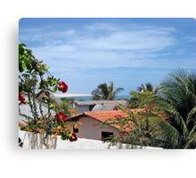 Waking up in Paradise  Canvas Print