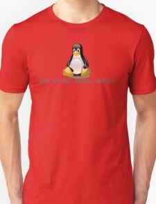 Linux - Get Install Whiskey Unisex T-Shirt