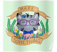 Make Something Poster