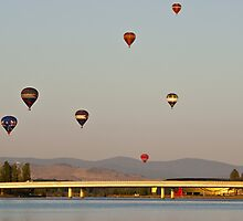 Canberra Balloon Fest 2005 #2 by Odille Esmonde-Morgan