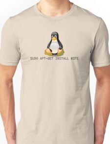 Linux - Get Install Wife Unisex T-Shirt