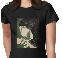 Red Tailed Black Cockatoo Womens Fitted T-Shirt