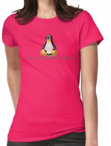 Linux - Get Install Ubuntu Womens Fitted T-Shirt