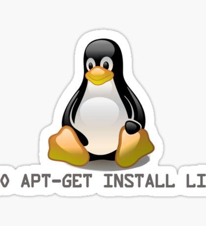 Linux - Get Install Linux Sticker