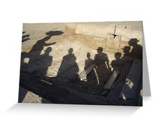 Tour group - Luxor Greeting Card