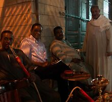 Smoking Shisha in Aswan by Jamie Alexander