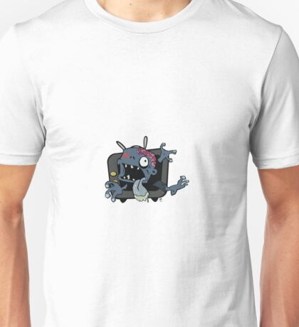 TV...no....brains.... Unisex T-Shirt