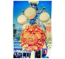 Pumpkin Mouse Poster