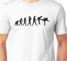 Teevolution Kick Black Unisex T-Shirt