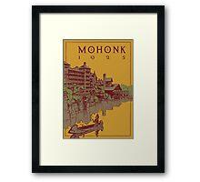 Mohonk Mountain House - 1925 Framed Print