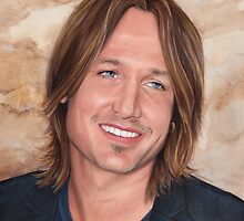Keith Urban - art poster 1 by Dacdacgirl