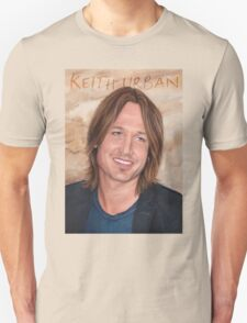 Keith Urban - art poster 1 T-Shirt