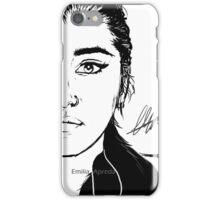 Lauren / Mulan Digital Sketch  iPhone Case/Skin