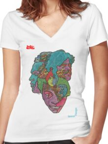 Love Forever Changes Women's Fitted V-Neck T-Shirt