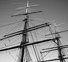 Tall Ship Masts by Renee Hubbard Fine Art Photography