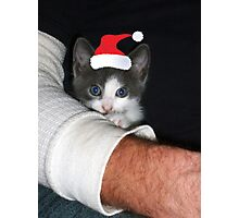 Santa's Little Helper Photographic Print