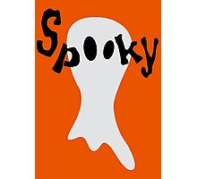 Spooky Ghost Photographic Print