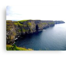 The Mighty Cliffs of Moher.... Canvas Print