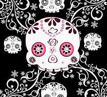 Ornate Skull  by Concetta Kilmer