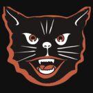 Halloween Cat by aj4787