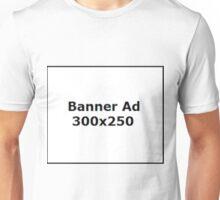 Banner ad Unisex T-Shirt