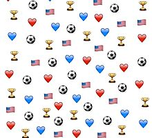 USWNT World Cup Champions Emojis by Soccermerch