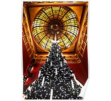 Queen Victoria Building(QVB) at Christmas Time Poster