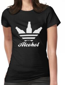 Alcohol Beer Cocktail Womens Fitted T-Shirt