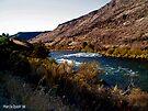DeChutes River - Oregon by Marcia Rubin