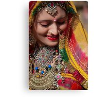 Beauty and Colors of Rajasthan Canvas Print
