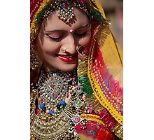 Beauty and Colors of Rajasthan Photographic Print