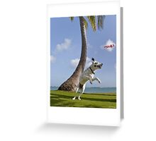 Zelda Playing In Paradise Greeting Card