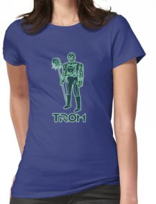 TROM Womens Fitted T-Shirt
