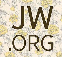 JW.org (peach and yellow flower pattern) by jwstuff