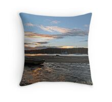 Bayview Boats Throw Pillow