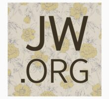 JW.org (peach and yellow flower pattern) Kids Tee