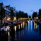 Canal Evening by phil decocco