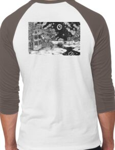 Along the Road to the Tower Men's Baseball ¾ T-Shirt