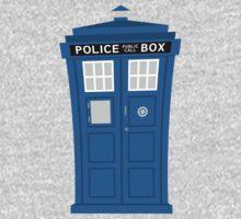 """TARDIS Friend"" One Piece - Short Sleeve"
