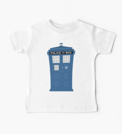 """TARDIS Friend"" Baby Tee"