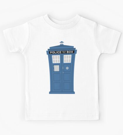 """TARDIS Friend"" Kids Tee"