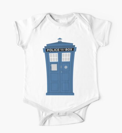 """TARDIS Friend"" One Piece - Short Sleeve"