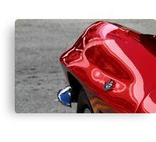 Red Fender Canvas Print