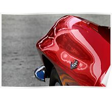 Red Fender Poster